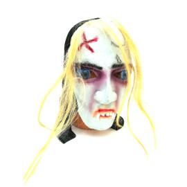 Ужасяваща маска с коси