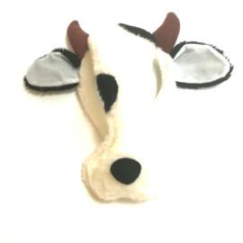 Маска - диадема на крава плюш