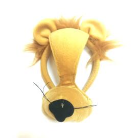Маска - диадема на лъвче със звук