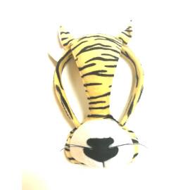 Маска - диадема на тигър със звук