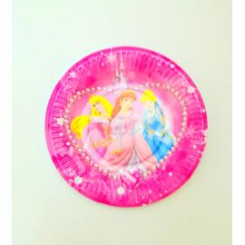 Парти чинии - Трите принцеси - 18см.