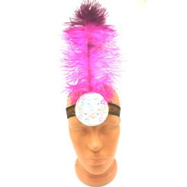 Лента за глава с перо