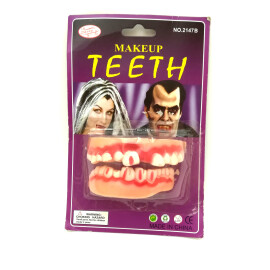 Изкуствени зъби - криви