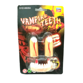Вампирски зъби с пръсти