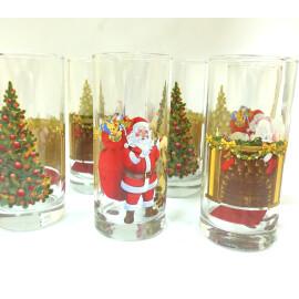 Коледни чаши - стъкло