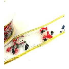 Коледна панделка - Снежко 2