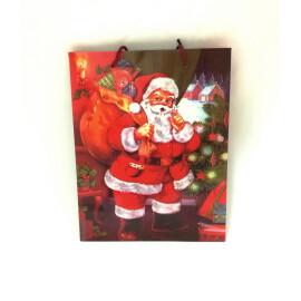 Подаръчна торбичка  - Дядо Коледа