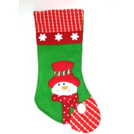 Коледно чорапче - Снежко
