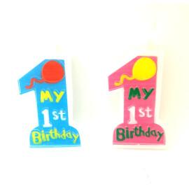 Свещичка за 1-ви рожден ден