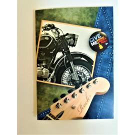 Мини картичка - Rock