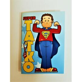 Мини картичка - Супер татко!