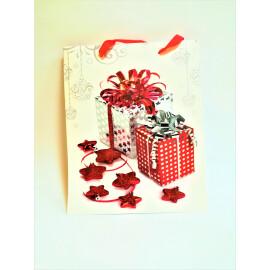 Подаръчна торбичка с подаръци