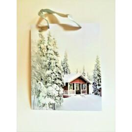 Подаръчна торбичка Снежна гора