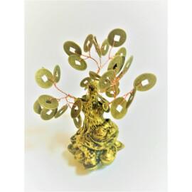 Дърво на живота с жабка и парички