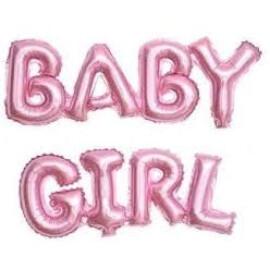 Балон букви за бебе - Baby Girl