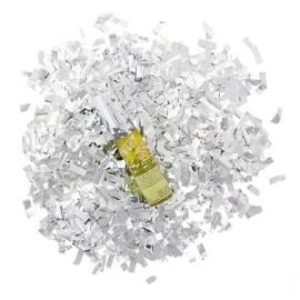 Конфети с въздух под налягане сребърни - 30см.