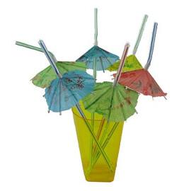 Сламки чадърче
