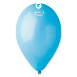 Балони 26 см. - светло сини  #009 - G90