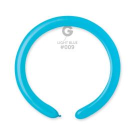 Моделиращи балони 5 см. - светло сини #009 - D4