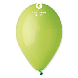 Балони 26 см. - светло зелени  #011 - G90