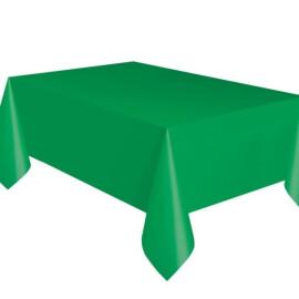 Едноцветна парти покривка - зелена