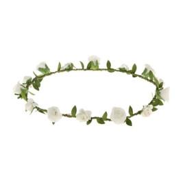 Венче с розички в бяло