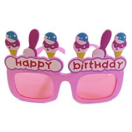 Парти очила Happy Birthday розови
