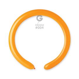 Моделиращи балони 5 см. - оранжеви #004 - D4