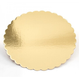 Подложка за торта злато - ф30