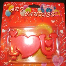 Свещички - I Love U