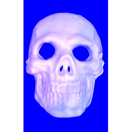 Маска череп бяла
