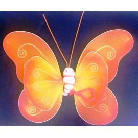 Пеперудени крила - оранжеви