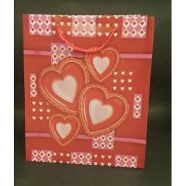 Подаръчна торбичка сърца