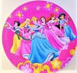Парти чинии - Принцесите - 23 см.