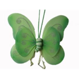 Пеперудени крила - зелени
