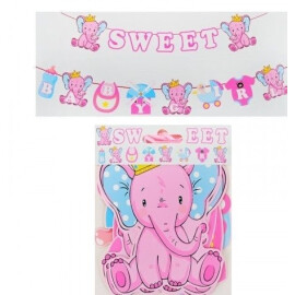 Парти украса Sweet Baby Girl