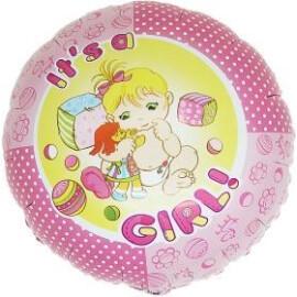 Балон с надпис Baby Girl