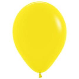 Балони пастел жълти - 26см.