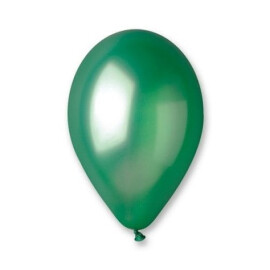 Балони металик зелени - 28см.