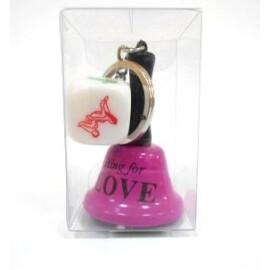Ключодържател - Ring for love и зар с пози