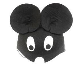 Карнавална шапка мишка