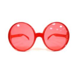 Парти очила кръгли големи