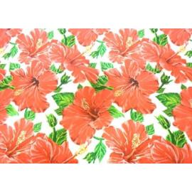 Опаковачна хартия червени цветя