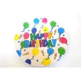 Парти чинии Happy Birthday