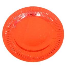 Парти чинии холограма червени
