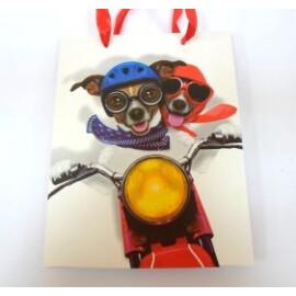 Подаръчна торбичка с кучета