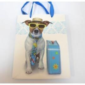 Подаръчна торбичка с куче