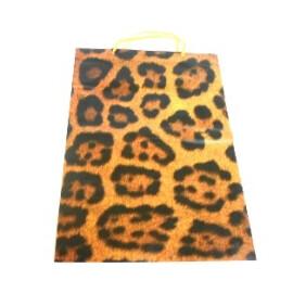 Подаръчна торбичка леопард