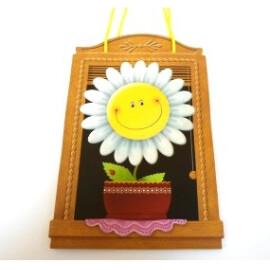 Луксозна подаръчна торбичка с цвете