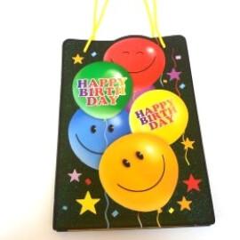 Луксозна подаръчна торбичка Happy Birthday